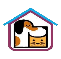 pet adoption agency logo for Paws of Piedmont